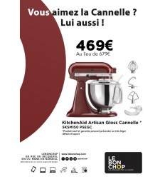 KitchenAid Artisan Gloss Canelle