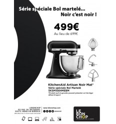 KitchenAid Artisan Noir Mat